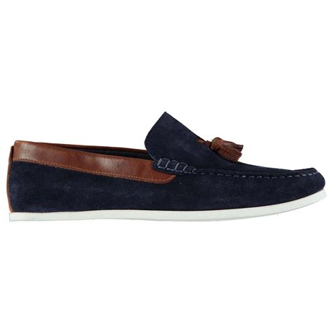 firetrap loafers firetrap mens giedo loafers slip on shoes tonal stitching