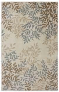 leaf pattern rugs leaf pattern sylvara area rug 5 x 8 by coaster home