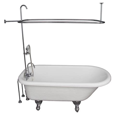 ball and claw bathtub barclay products 5 6 ft acrylic ball and claw feet roll