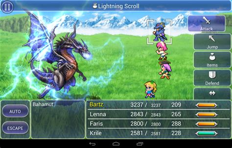 ffvii android 4 reasons you should experience iii vi on nvidia shield