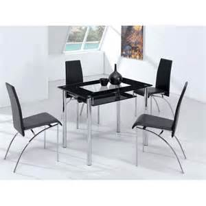Cheap Glass Dining Table And 4 Chairs Dining Table Four Chairs Shop For Cheap Furniture And Save