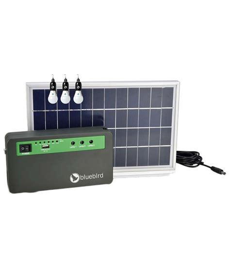 Solar Home Lighting System Bluebird Solar Price In India Looking Solar Lighting System For Home With Price List