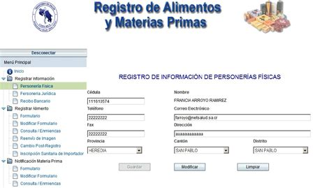 inscripcion y registro en el sada sica gotolink