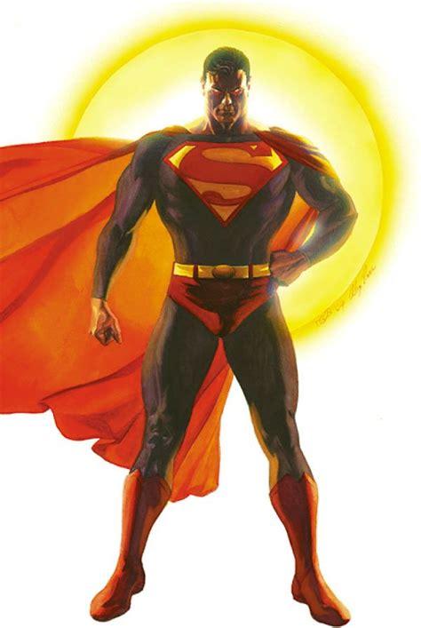 Kaos Superman Logo Alex Ross justice 4 by alex ross