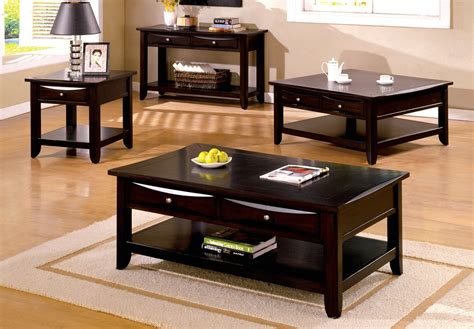 espresso end table with drawer baldwin contemporary espresso accent tables with drawers