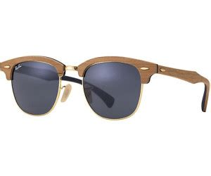 Ban Clubmaster Sonnenbrille 184 by Ban Clubmaster Wood Rb3016m Ab 173 45