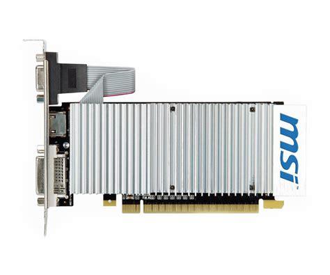 Cardex Gt 210 1gb 64 Bit Ddr3 msi geforce gt210 1024mb 64bit silent low profile karty