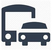 Airport Bus Car Park Station Transportation Icon