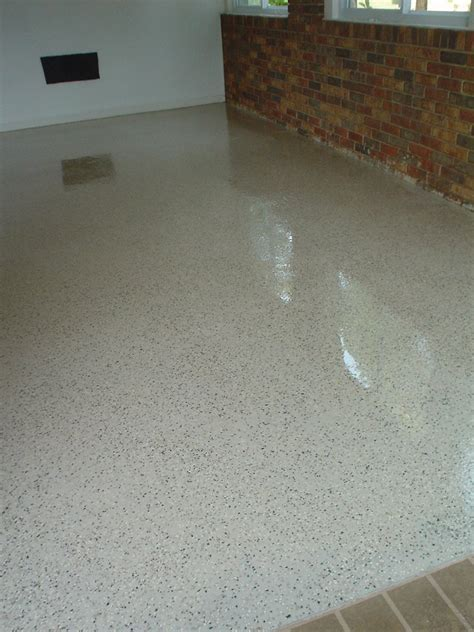 Vinyl Chip Epoxy Floor, Epoxy Garage Floor, Epoxy Coating
