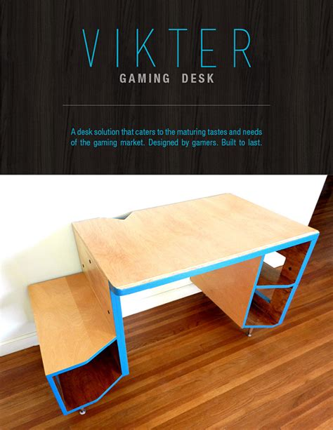 vikter gaming desk plans vikter gaming desk on student show