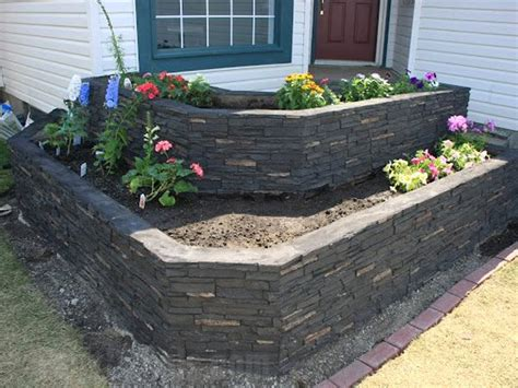 Remodeling Retaining Walls Creative Faux Panels Garden Wall Panels