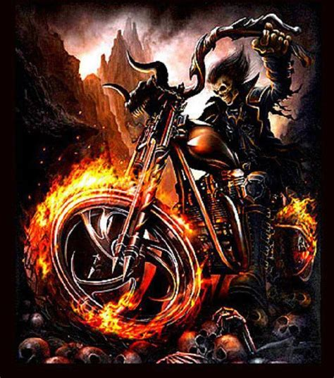 Ghost Rider Bike Live Wallpaper by Pin By Matthew Grant On Skulls And Grim Reapers In 2019