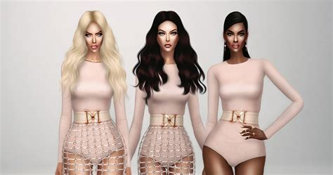design clothes sims 4 my sims 4 blog balmain inspiration collection by frs beo