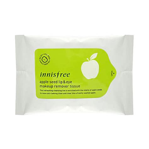 Innisfree Apple Seed Cleansing Tissue tissue pad innisfree apple seed lip eye makeup remover tissue 1pack 30pcs