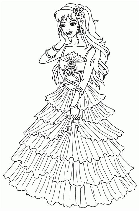 coloring pages free princess princess coloring pages best coloring pages for
