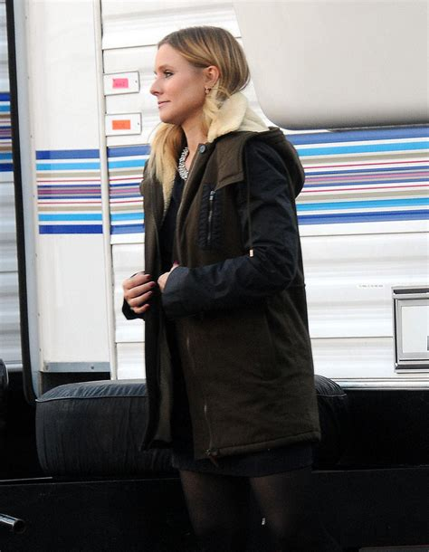 kristen bell house kristen bell on the set of house of lies zimbio