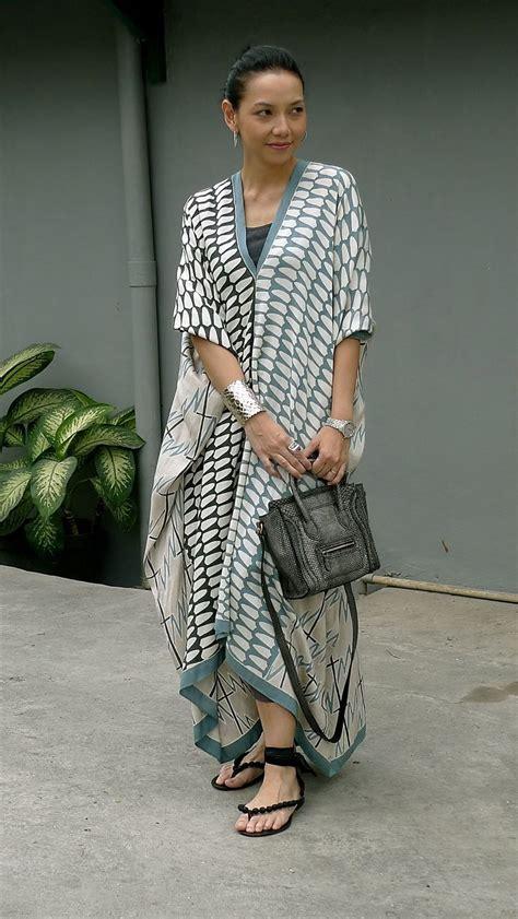 Abaya Tunik Ms 1006 batik tunik style