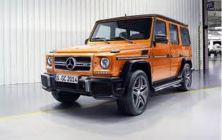 2016 mercedes g class benefits from new v 8 chassis