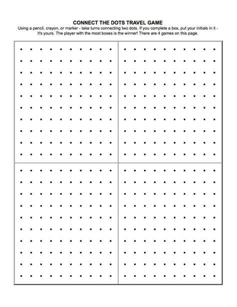 printable dot games the dot game printable uma printable