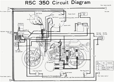 motorcycle wiring diagram without battery new wiring