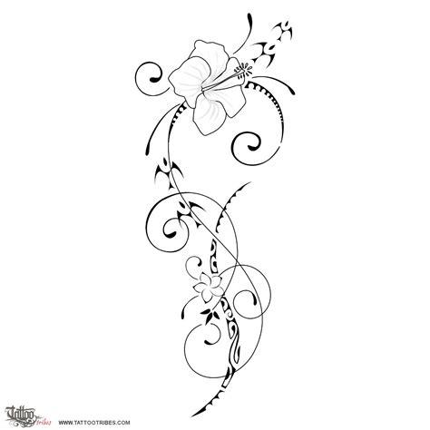 tribali fiori tatuaggi fiori significato