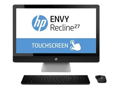 hp envy recline touchsmart 27 sobremesa hp envy recline touchsmart 27 k001es