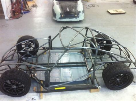 design car frame chop coupe chassis 356speedster 356coupe 550spyder