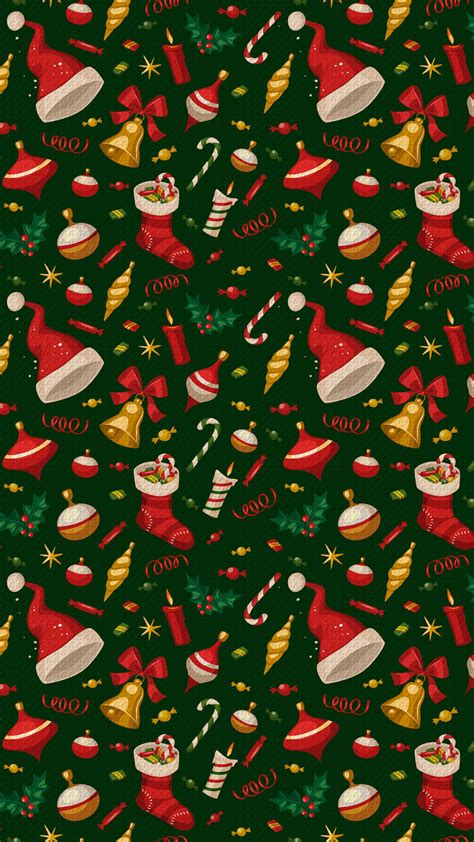 pattern christmas wallpaper christmas pattern iphone wallpaper hd