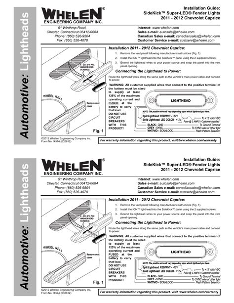 whelen sk02jj user manual 2 pages also for sk02wjj
