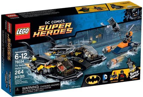 Lego 76034 Batboat Harbor lego the batboat harbor pursuit 76034 retrenders