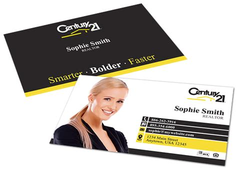 Century 21 Gift Card - century 21 business cards century 21 business card templates
