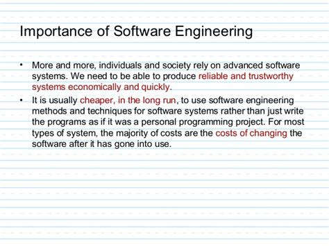 Software Engineer Doing Mba by Unit 1 Introduction Tosoftengg Mba Tech Ii Year