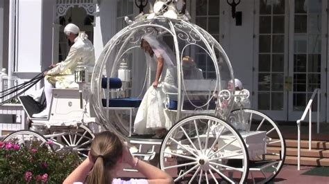 Cinderella Wedding Carriage at Disney's Grand Floridian Resort   YouTube