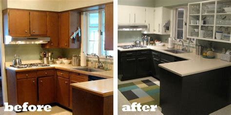 cheap kitchen makeover ideas before and after cheap kitchen makeovers before and after