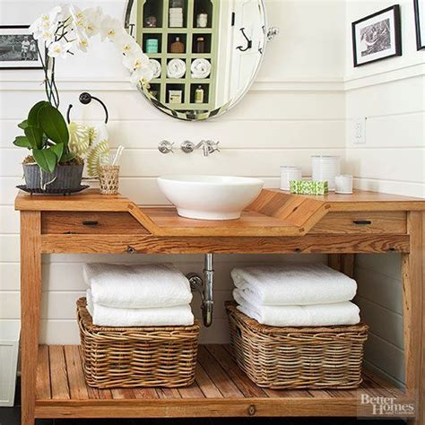 bathroom vanity shelving ideas 11 ideas for a diy bathroom vanity pinterest powder