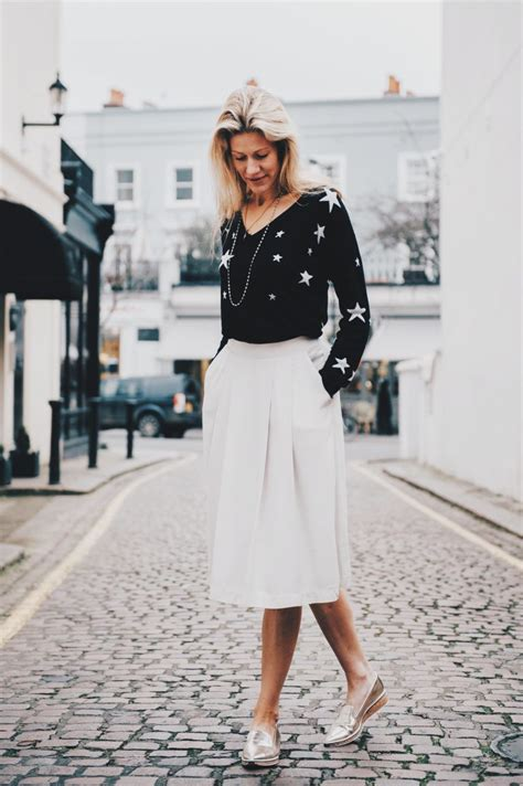 a s take on a pleated skirt