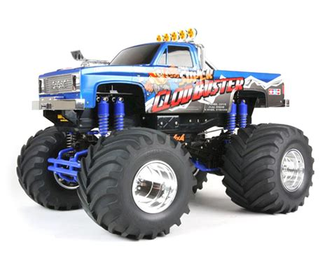 rc monster jam trucks for sale tamiya super clod buster 4wd monster truck kit tam58518
