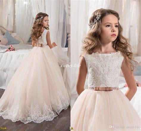 Cc Dress Tutu Princess 1 custom made flower dresses for wedding blush pink