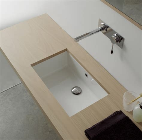 rectangular undermount bathroom sinks rectangular white ceramic undermount sink contemporary