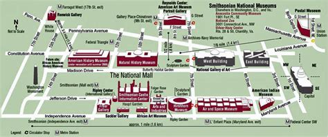 washington dc map national mall map of national mall my