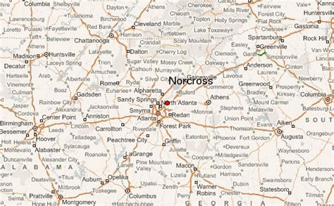map of norcross gu 237 a urbano de norcross