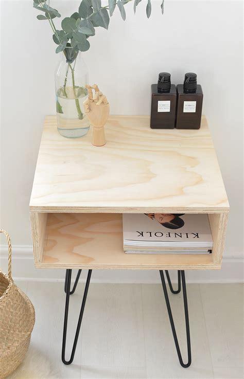 lade da comodino leroy merlin diy mesa de madera y patas de horquilla tr 234 s studio