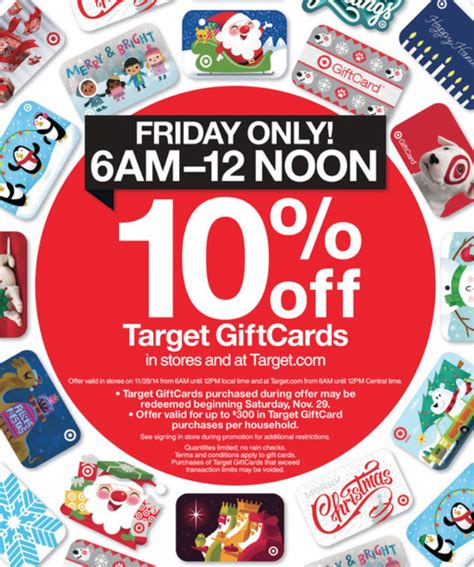 Can You Use Target Gift Card Online - free 30 discount at target com tomorrow only plus cash back black friday deal