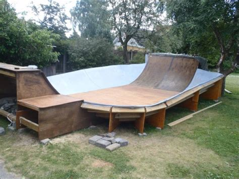 how to build a backyard skatepark my backyard skate bowl