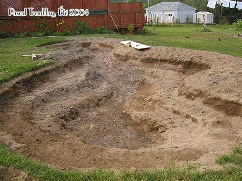 digging a backyard pond build water garden how to dig a backyard pond step by