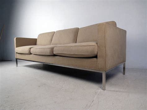 mid century modern style sofa mid century modern sofa in the style of knoll for sale at
