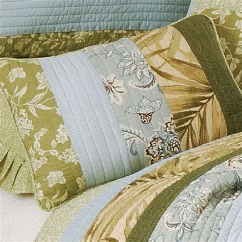 Palm Quilting by Palm Tree Bedspread King Palm Stripes Quilt Bedding By C