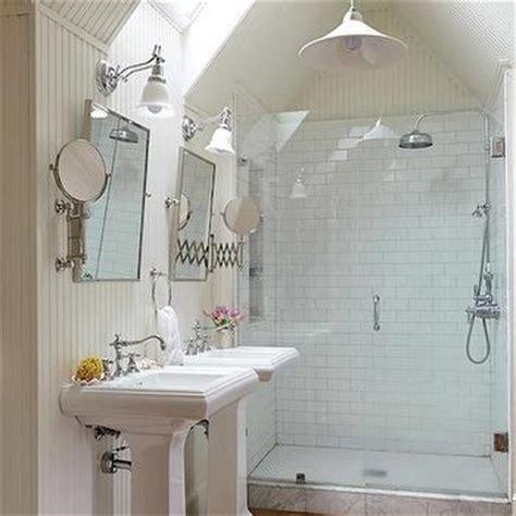 attic bathroom ideas cottage bathroom atlanta homes lifestyles bathroom skylight cottage bathroom ici dulux white
