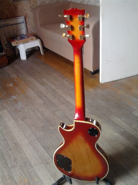 Gitar Custom Model Gibson Les Paul gibson les paul custom heritage cherry sunburst image 249523 audiofanzine