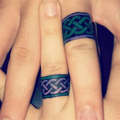 simple tattoo wedding band 55 wedding ring tattoo designs meanings true